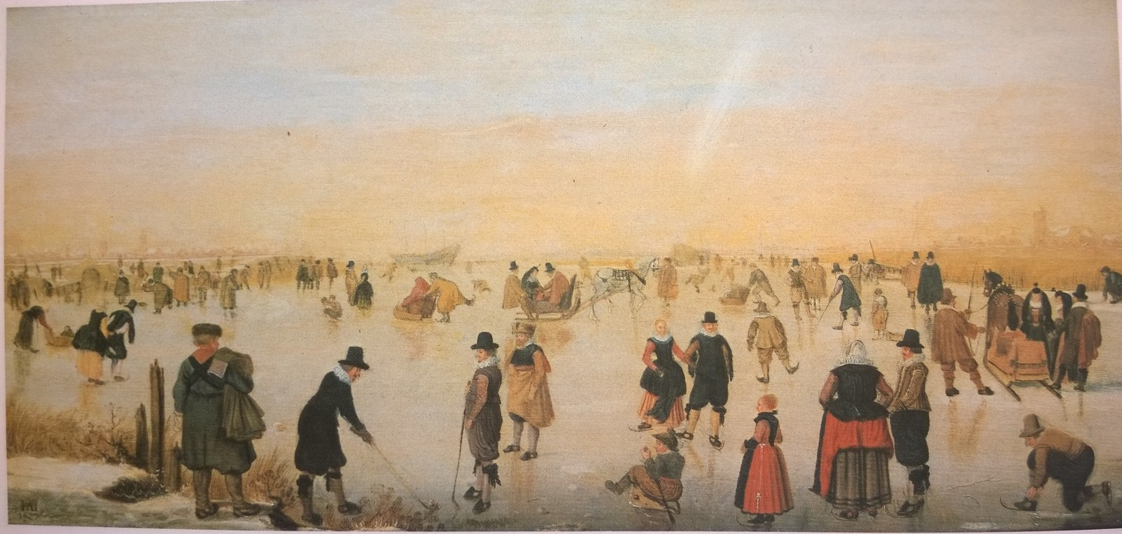 De Stomme Van Kampen File Hendrick Avercamp Skating On The Ice Allegedly Near Kampen