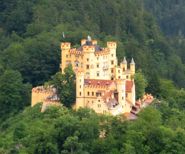 Austria Wallpaper Hd File Hohenschwangau Von Neuschwanstein1 Jpg Wikimedia