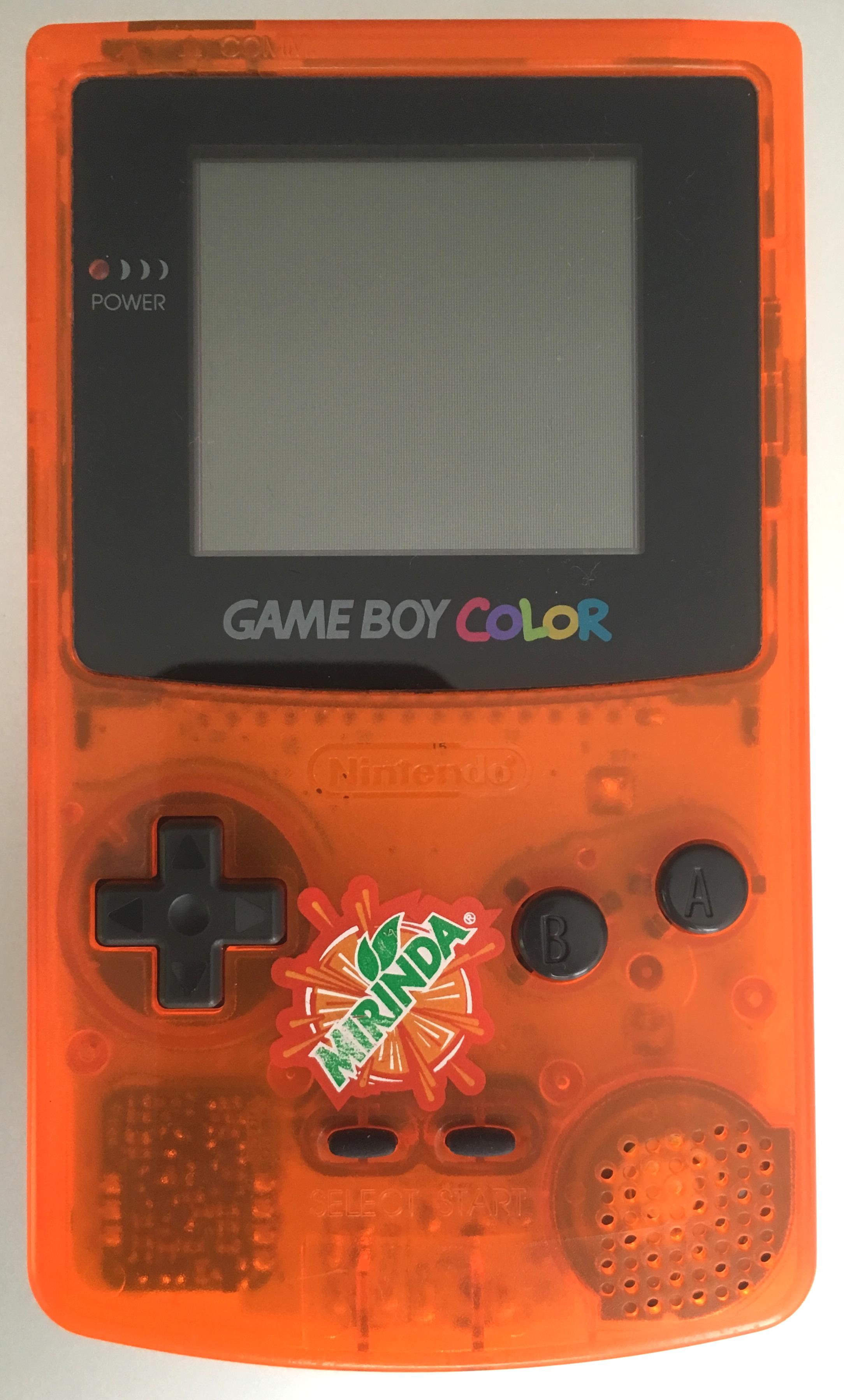 Game boy color mirinda