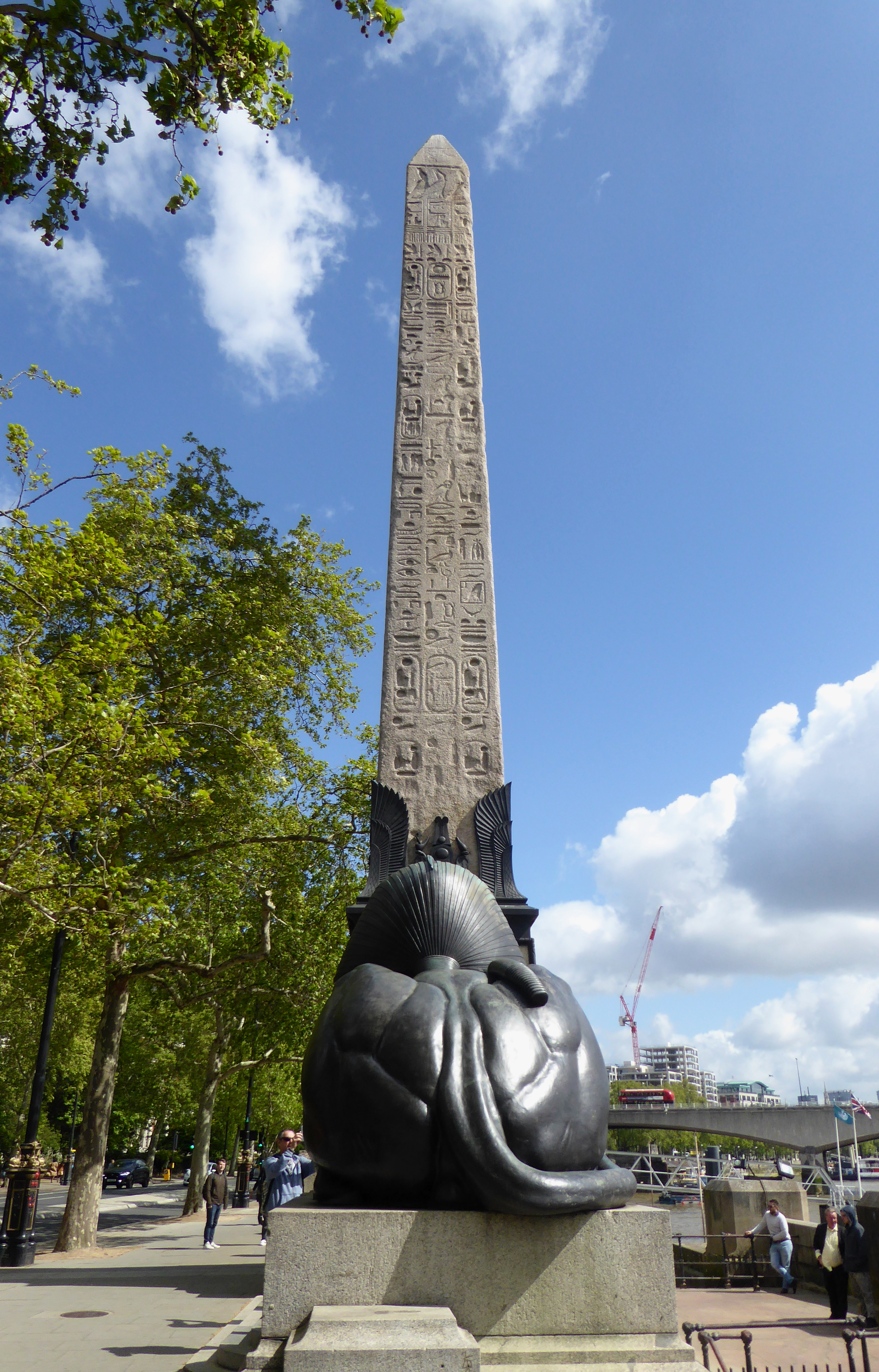 Art Wolfe Floating Market Cleopatra S Needle London Wikipedia