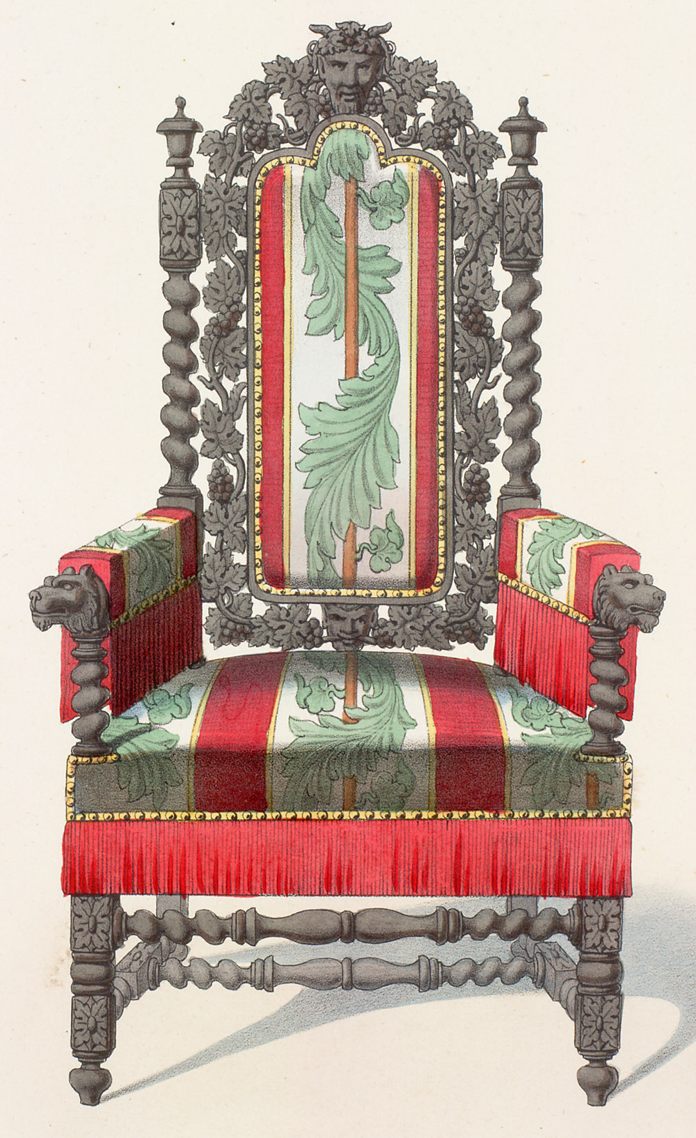 File Chair Louis Xiii Style 06 Jpg Wikimedia Commons