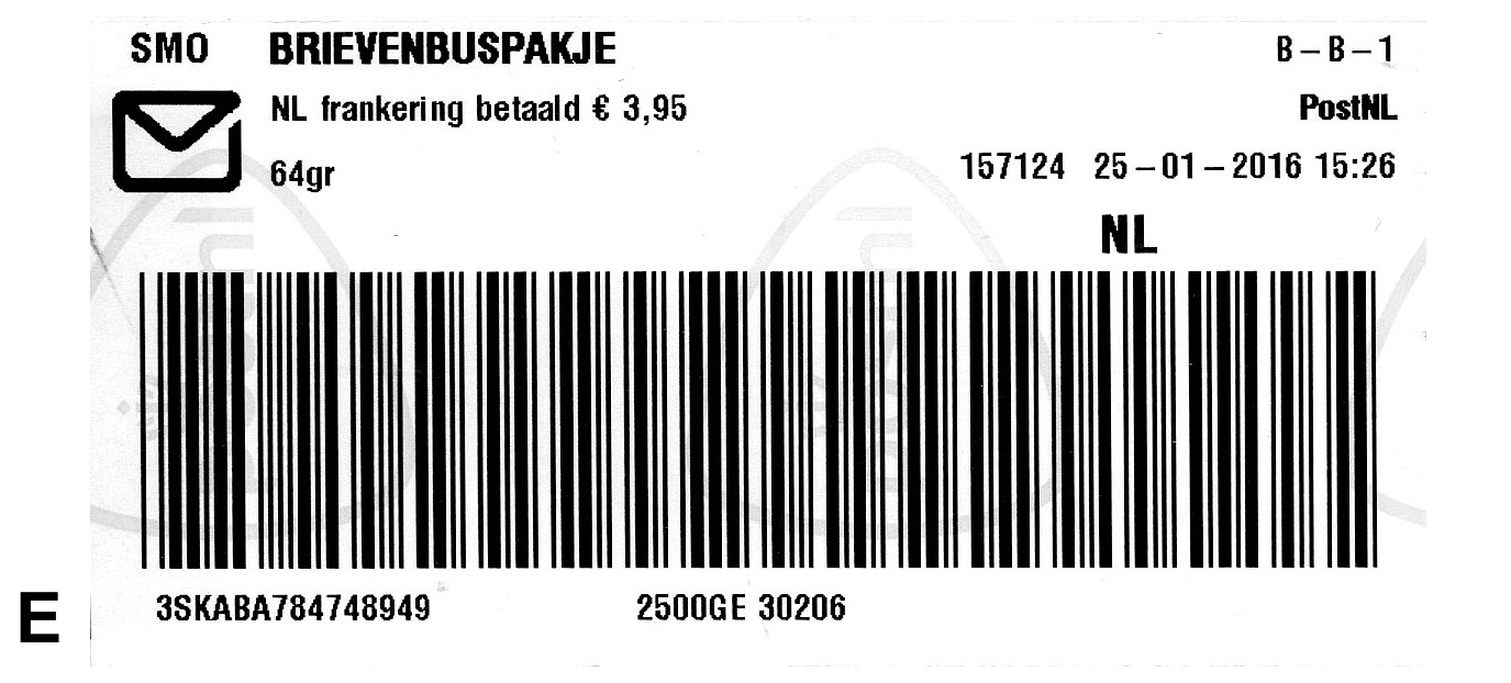 Brievenbuspakje Postnl File Netherlands Stamp Type Po A7p1e Jpg Wikimedia Commons