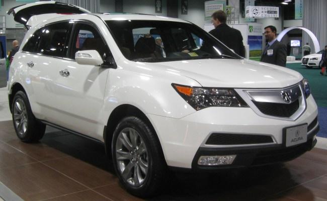 2014-Acura-MDX-White Acura Mdx White
