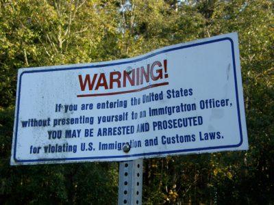 Border Illegal Immigrants In Canada
