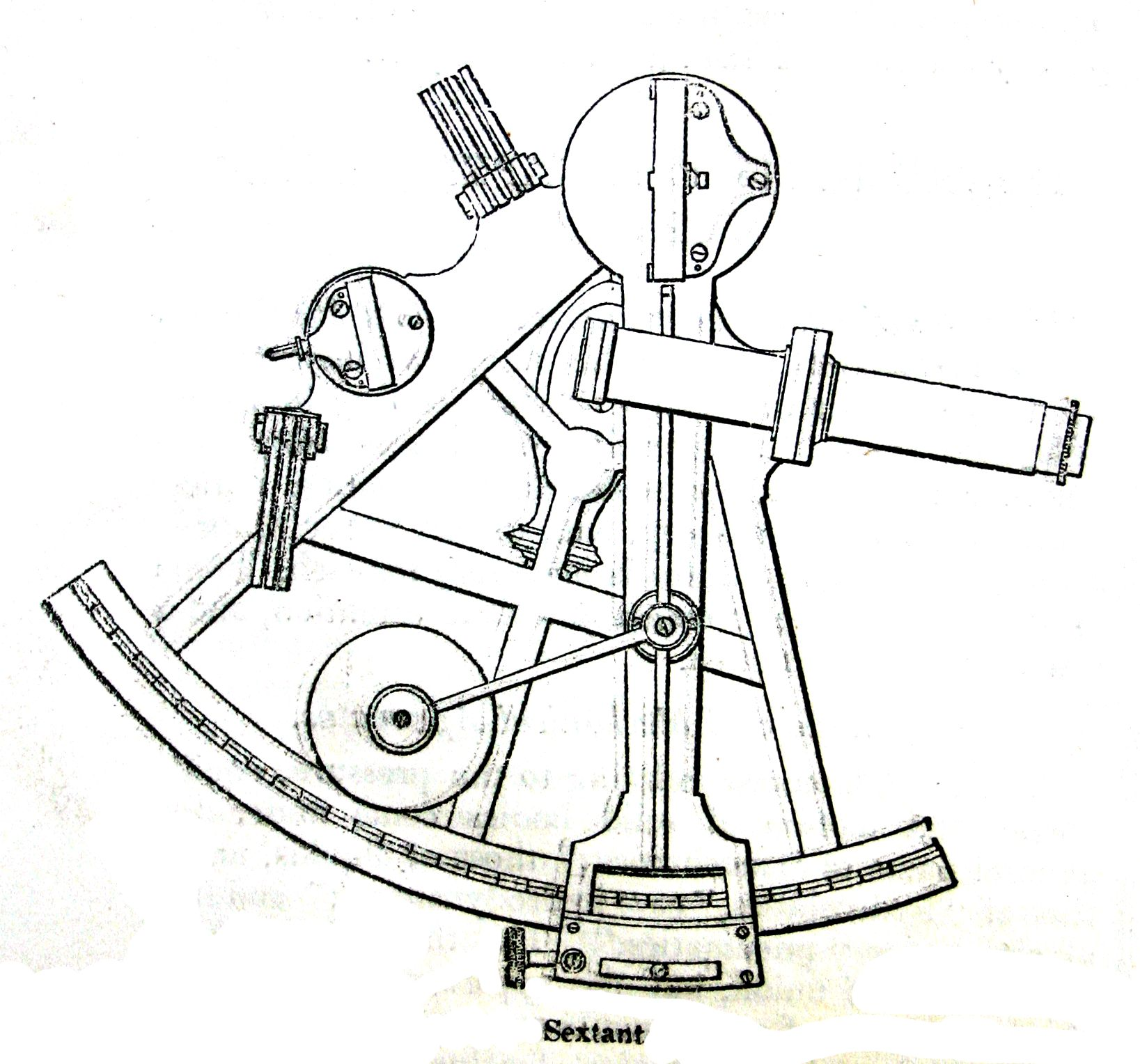 diagram of sextant