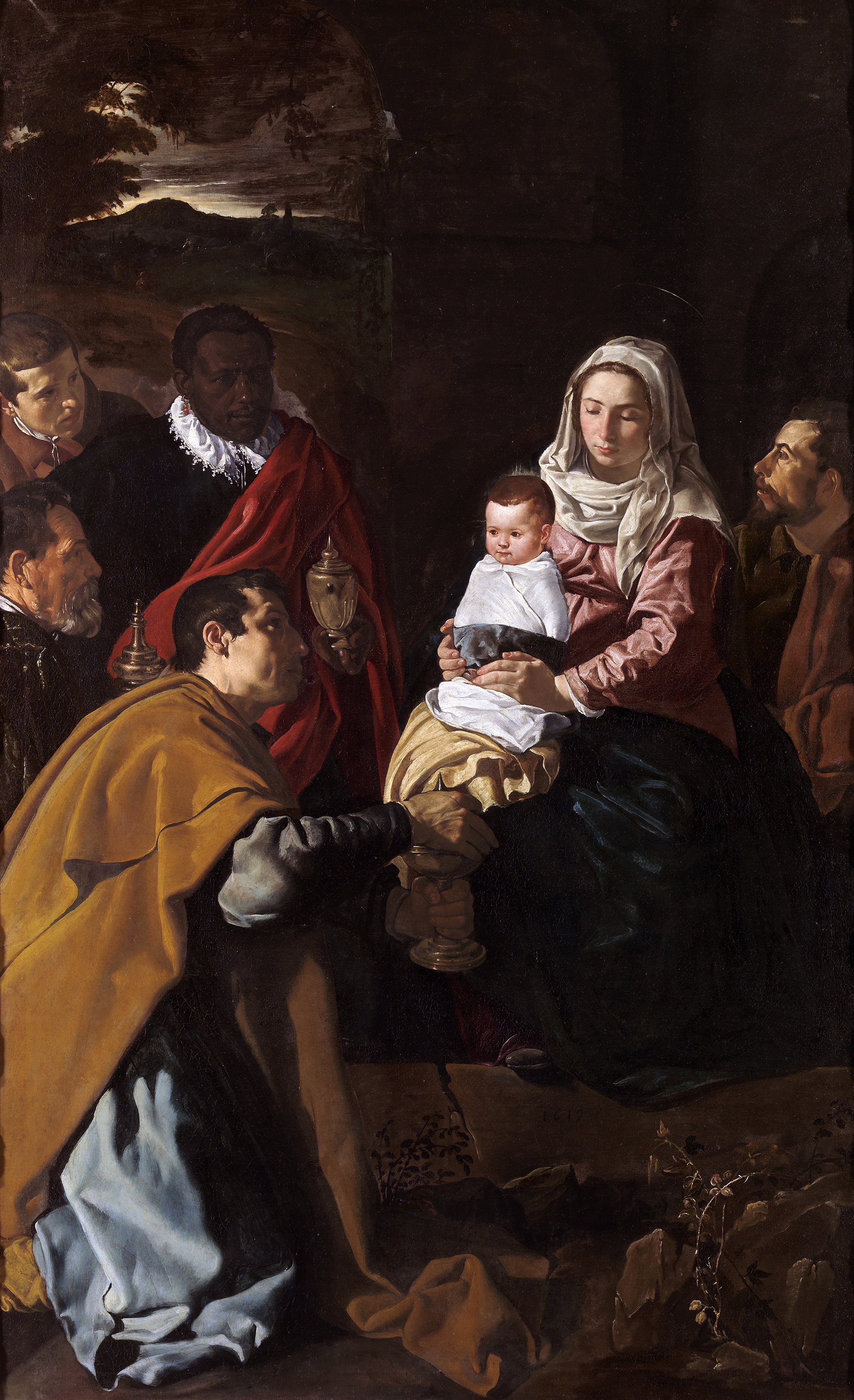 Pinturas Barrocas Adoration Of The Magi (velázquez) - Wikipedia