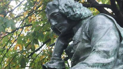 spinoza sculpture