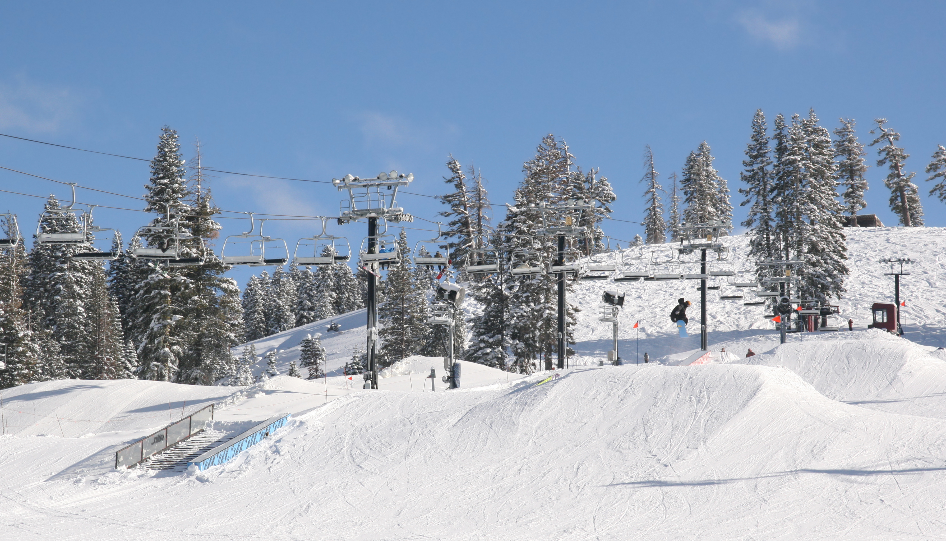 Ski Slope File:ski Slope In Boreal, California.jpg - Wikimedia Commons