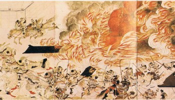 Medieval Japanese Art On War