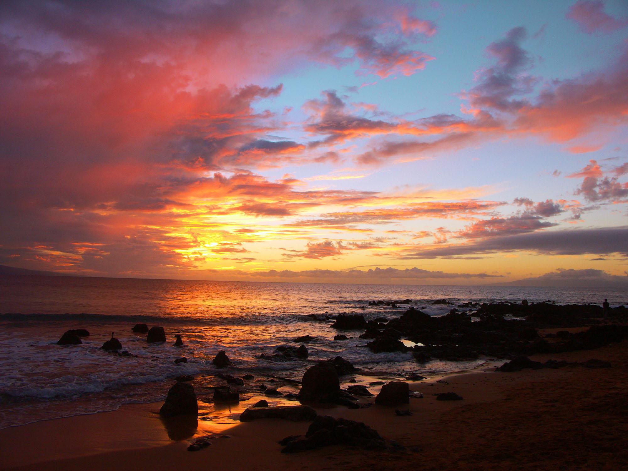 Bing Hd Wallpaper Fall File Maui Sunset Jpg Wikimedia Commons