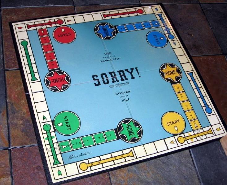 Sorry! (game) - Wikipedia
