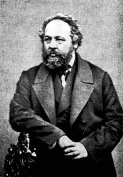 Collectivist anarchist Mikhail Bakunin opposed...