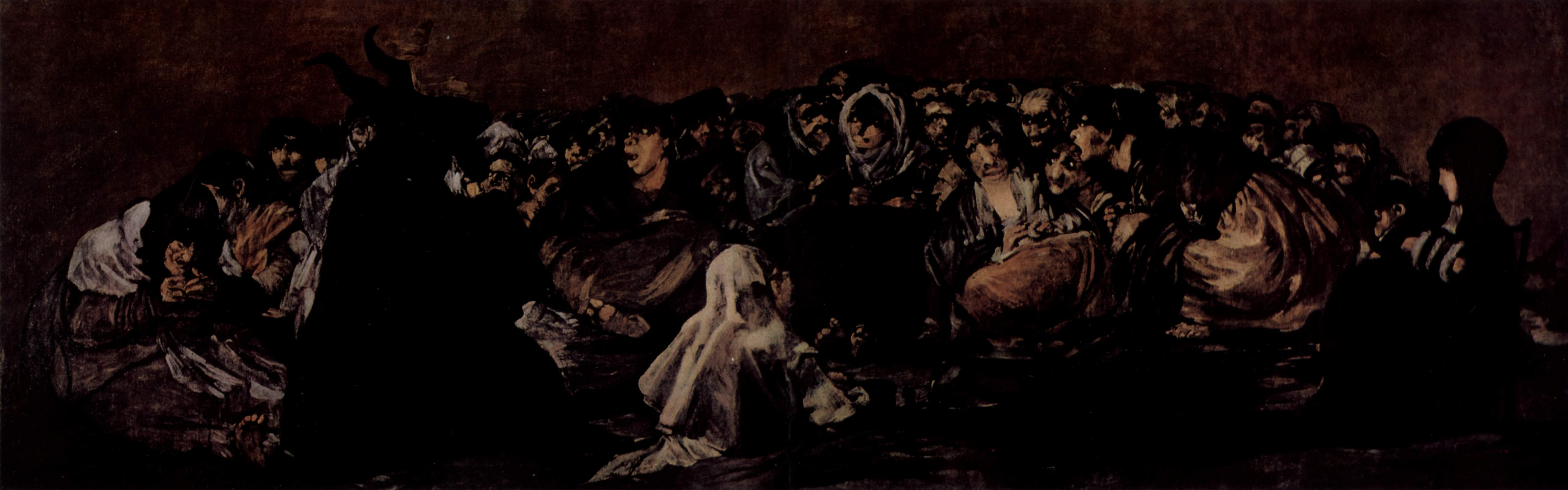 Goya Pinturas Negras File Witches 39 Sabbath By Goya Jpg Wikimedia Commons