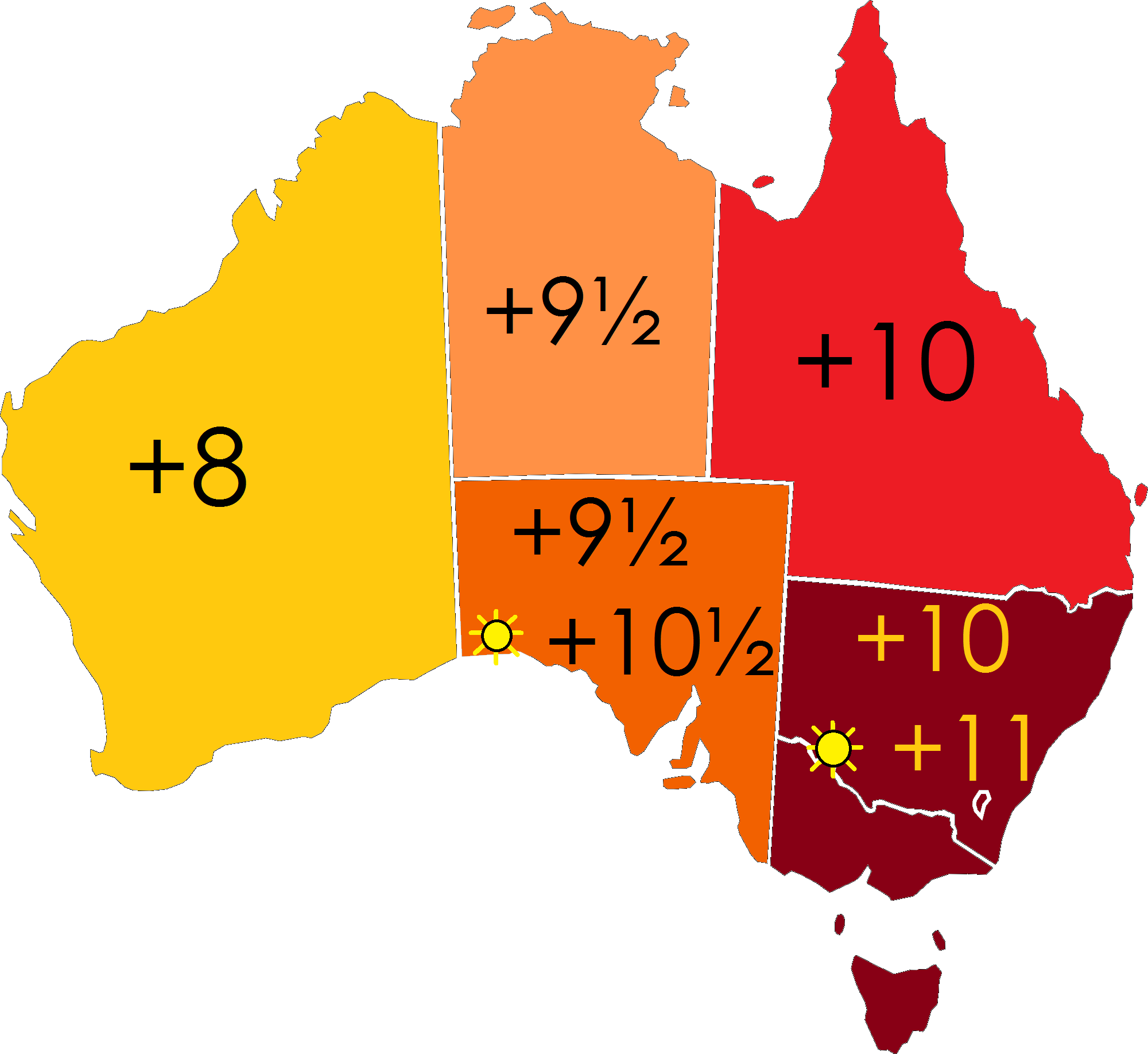 Regional Australia Time In Australia Wikipedia