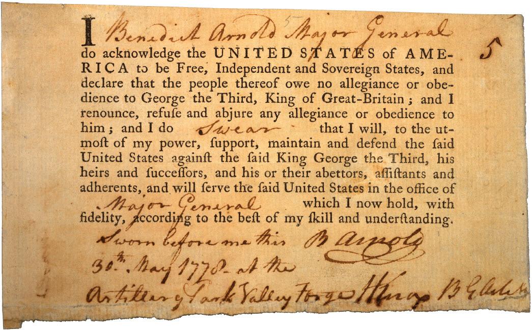 Oath of allegiance - Wikipedia