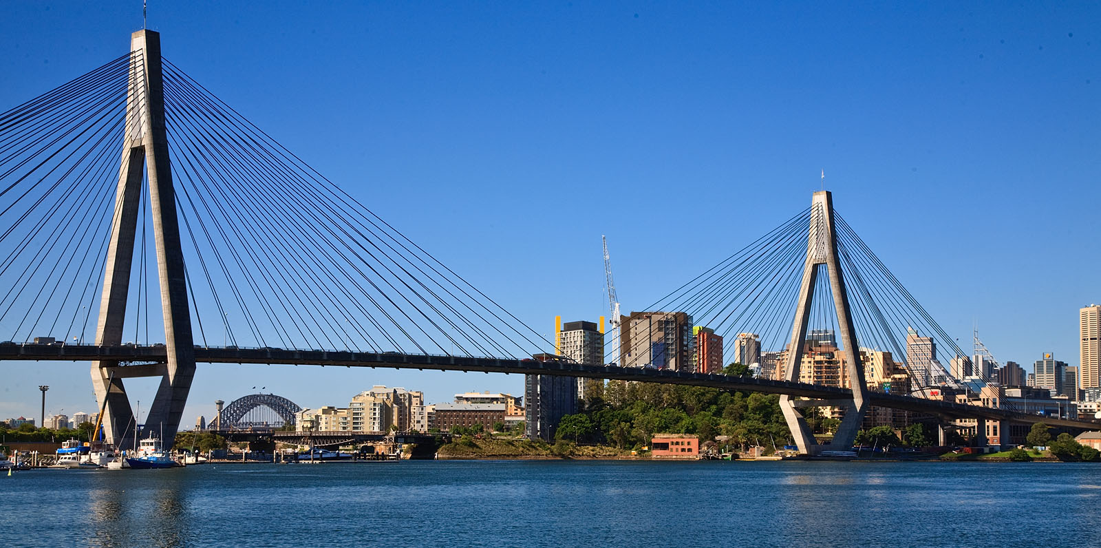 Tension Rod Australia Anzac Bridge Wikiwand