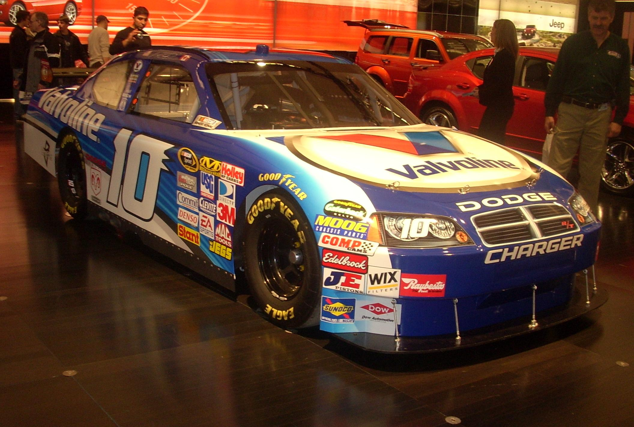 Vehicle Manufacturers In Nascar Car Of Tomorrow Wikipedia