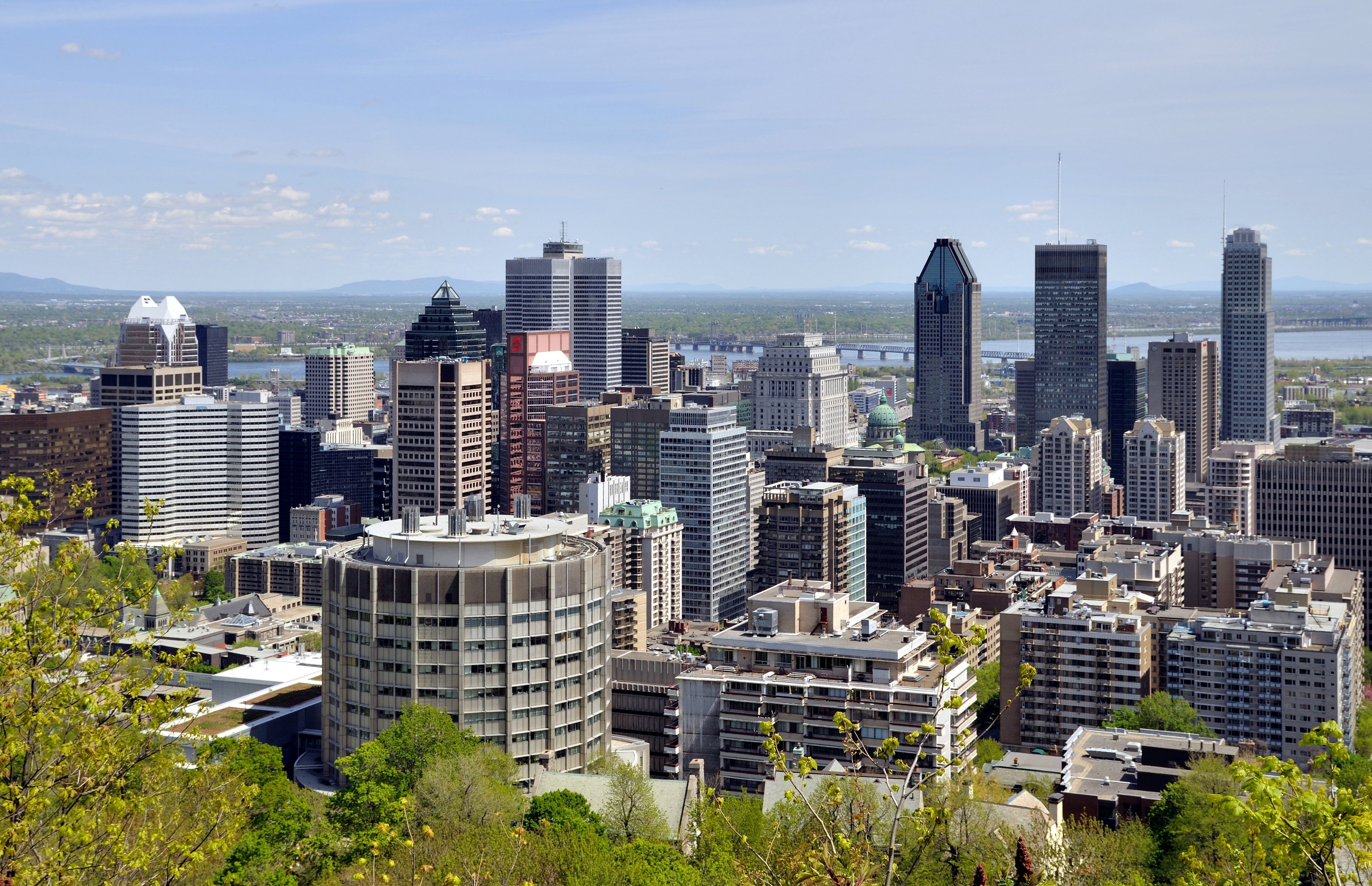Quebec Montreal Downtown Montreal Wikipedia