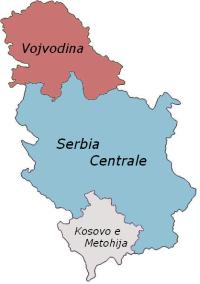 Suddivisioni della Serbia - Wikipedia