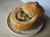 File:Porcini mushroom soup in breadbowl poland 2010.JPG ...