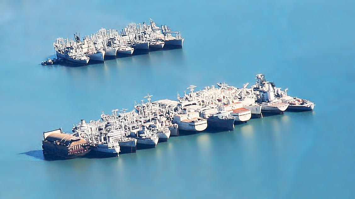 United States Navy reserve fleets - Wikipedia