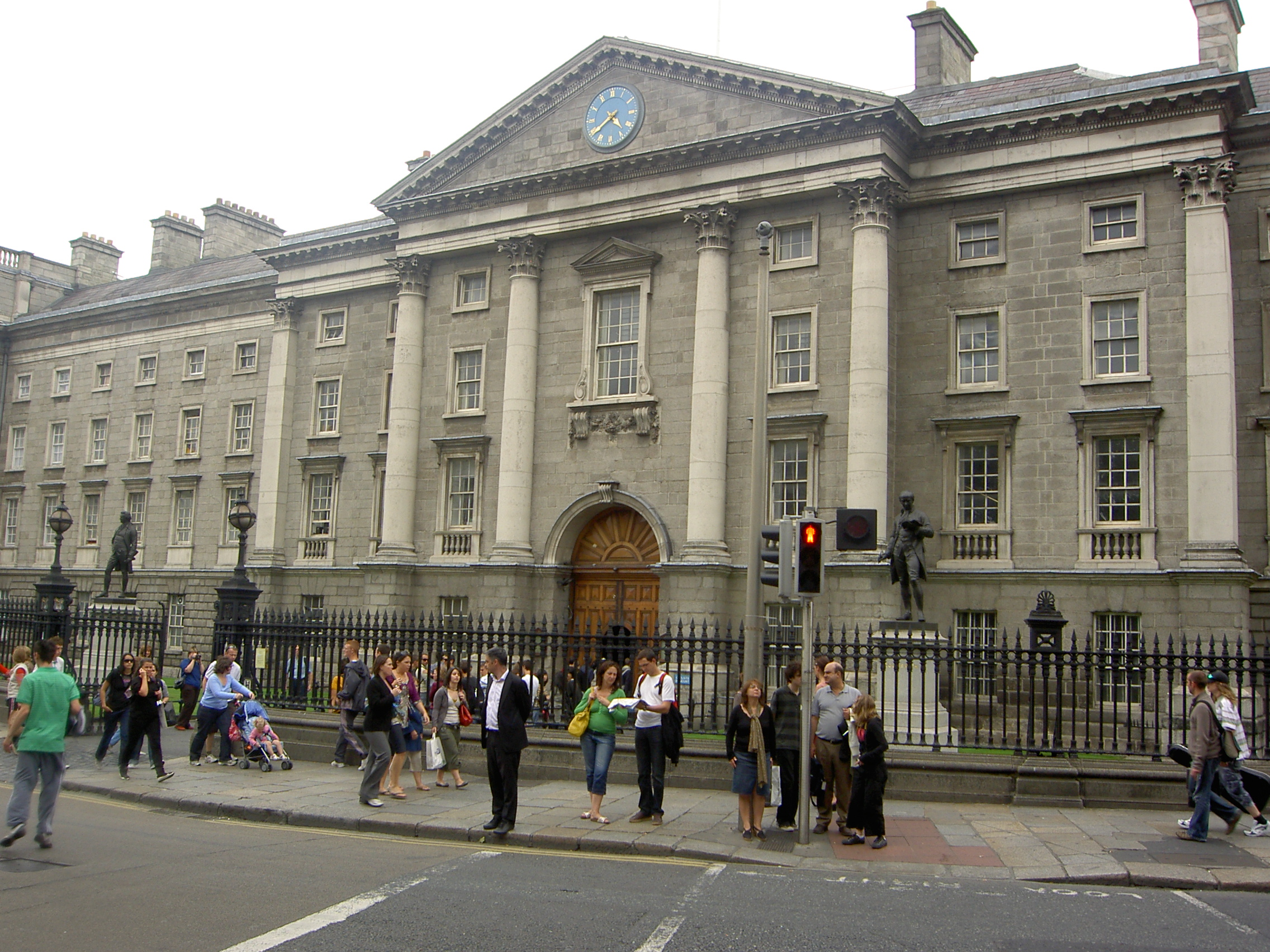 Hd Irish Wallpaper File Trinity College Dublin From Street Jpg Wikimedia