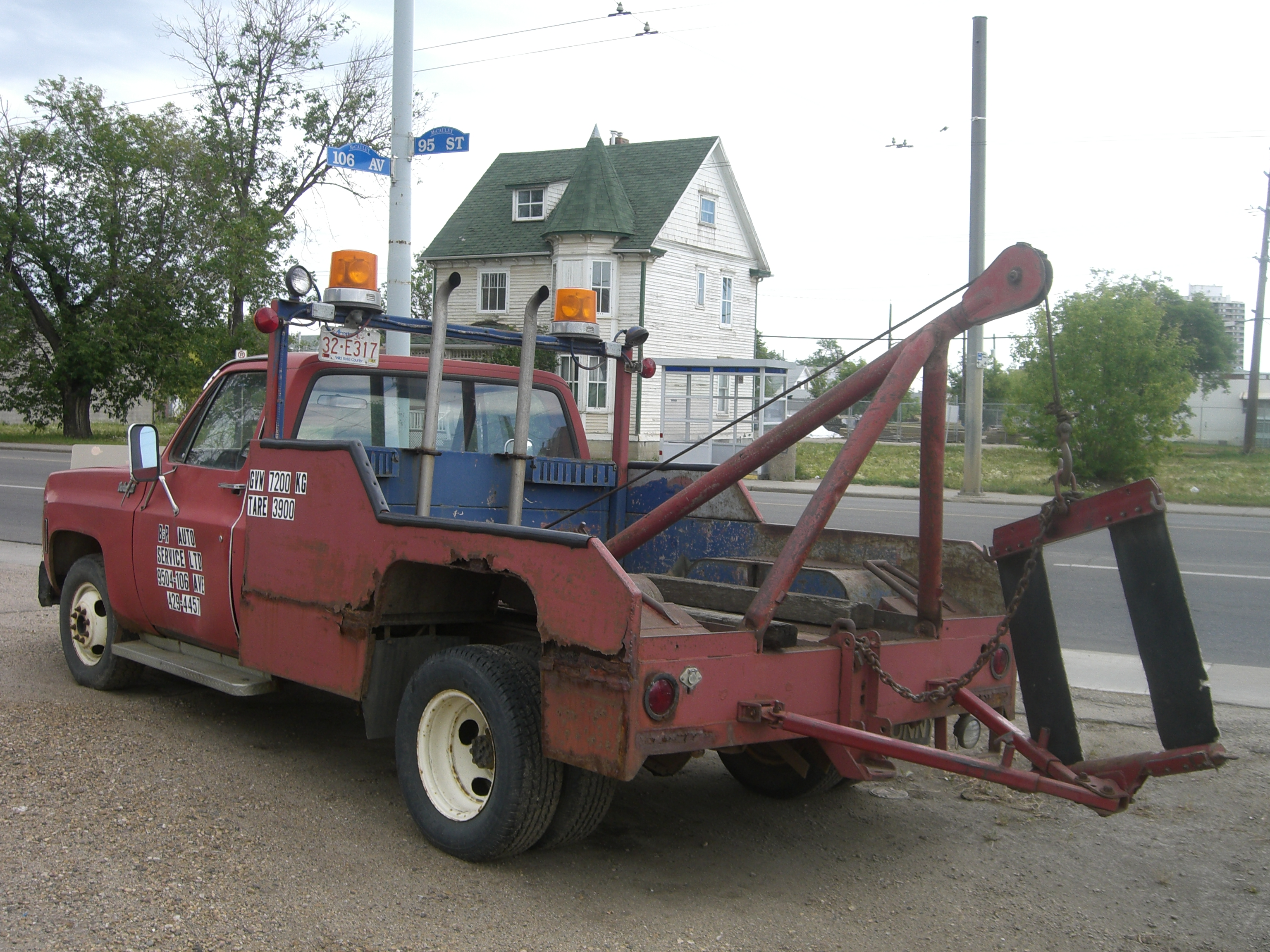 Tow Truck File 1980s Style Tow Truck Jpg Wikimedia Commons
