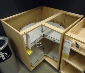 Kitchen Cabinet Inside Corner