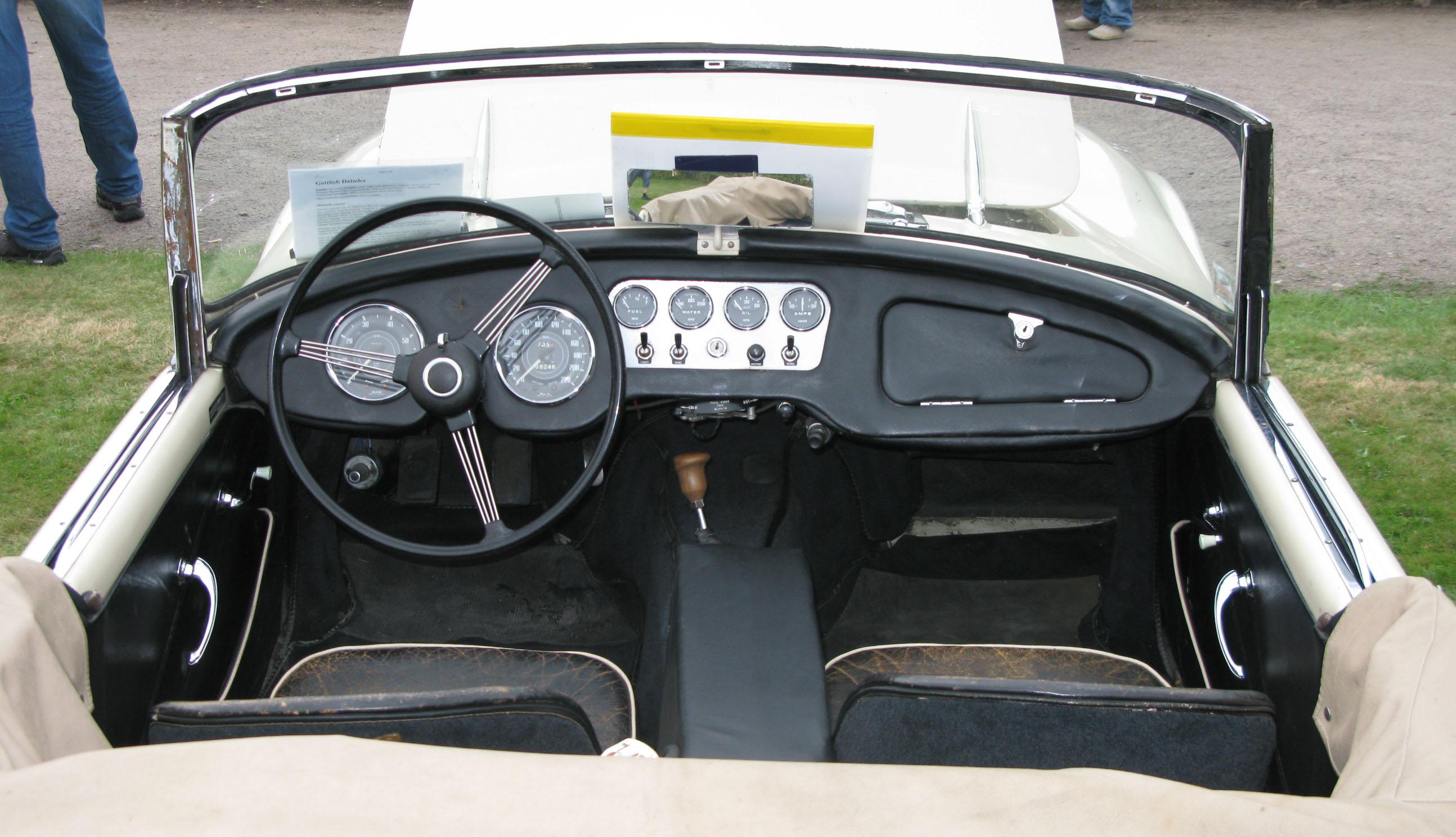 Car Dashboard Wallpaper File 1961 Daimler Dart Dash Jpg Wikimedia Commons