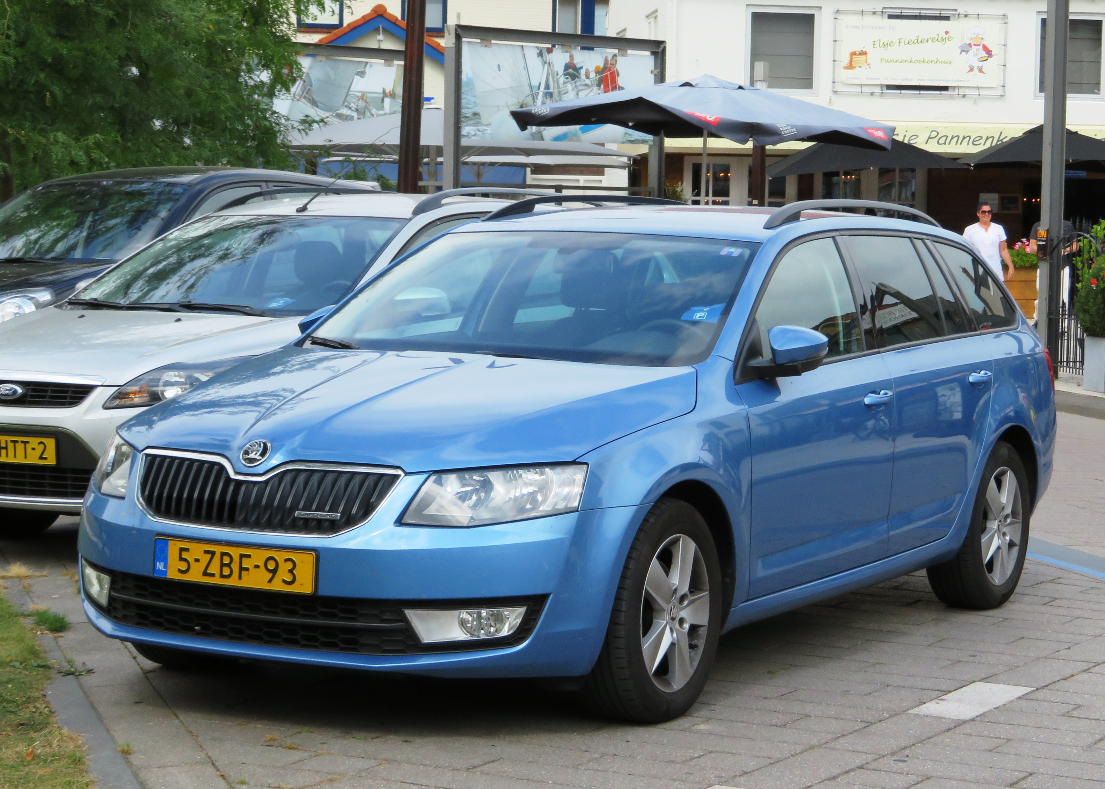 Skoda Octavia Greenline 3 File Skoda Octavia Kombi Greenline In Denim Blue Jpg