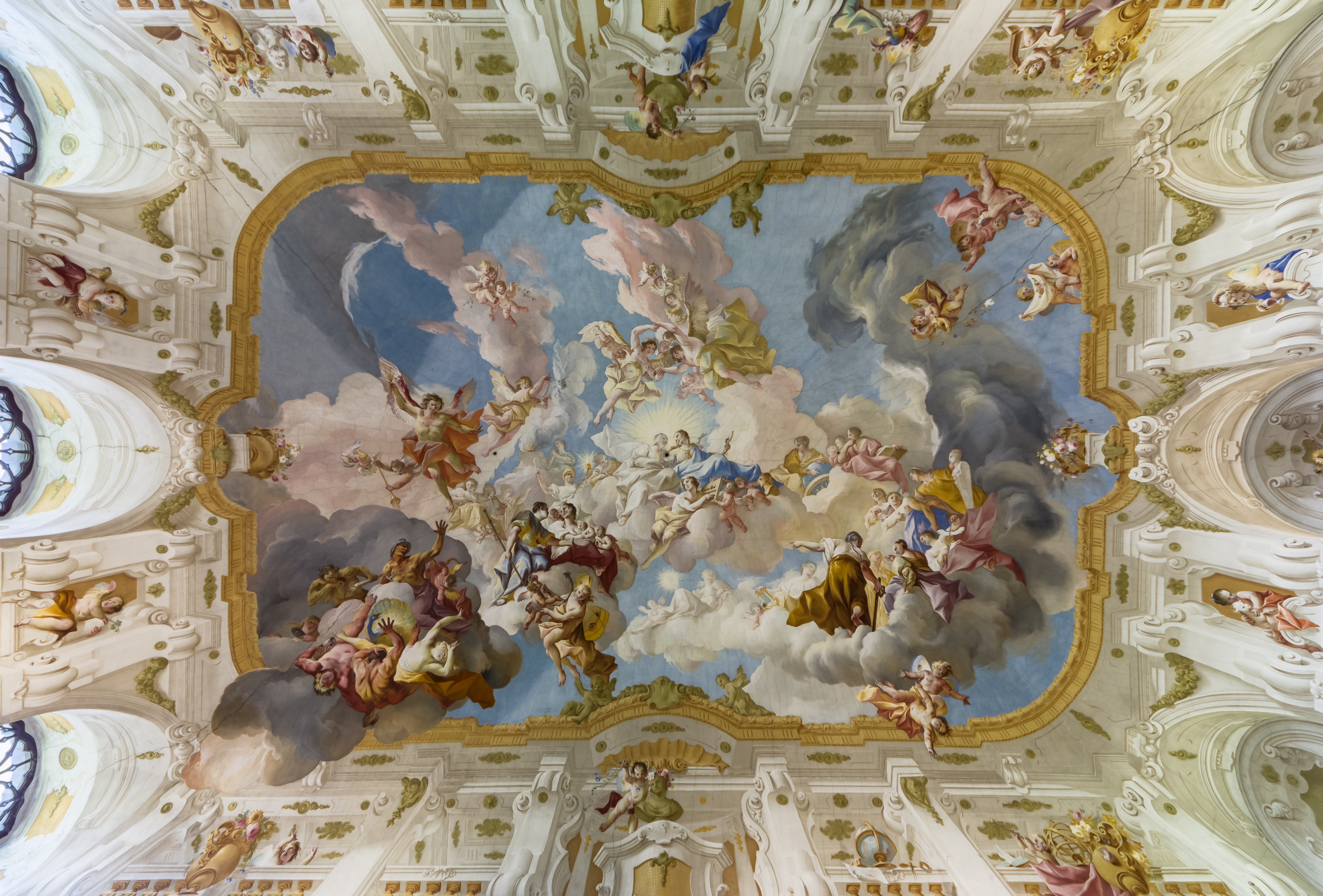 Picture of the Day: The Ceiling Fresco at Seitenstetten