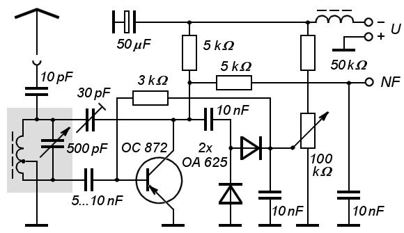 metronome by transistor