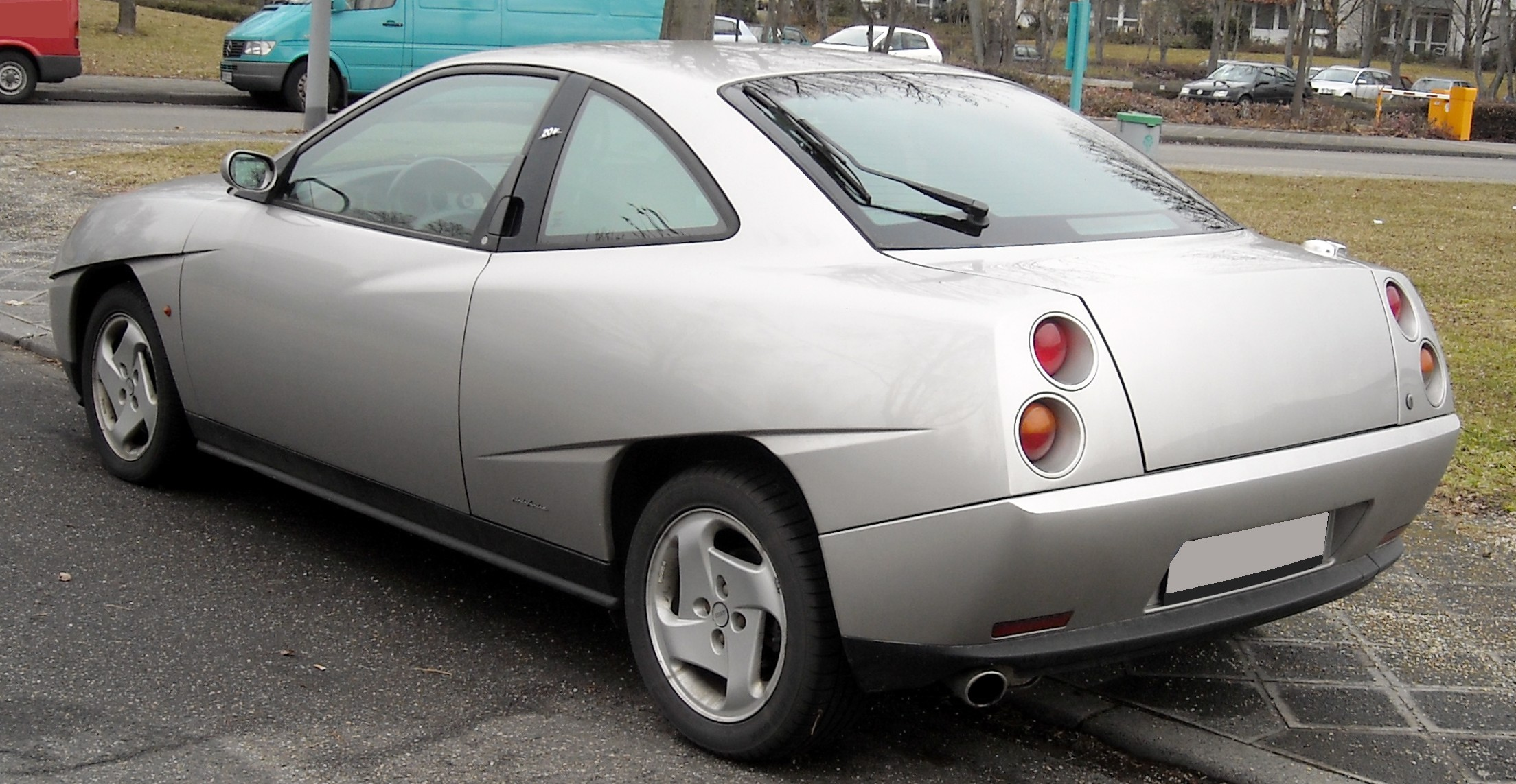 Fiat Coupe File Fiat Coupé Rear 20090227 Jpg Wikimedia Commons