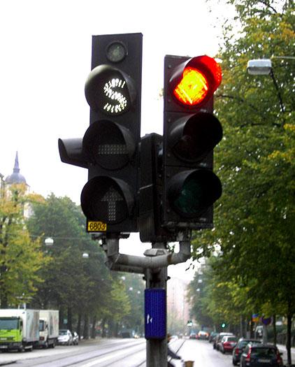 Traffic-light signalling and operation - Wikipedia