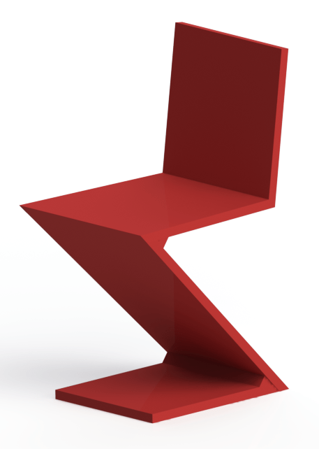 Zig Zag Chair Wikipedia