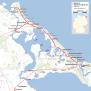 Karte Insel Usedom