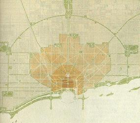 Burnham 1909 chicago plan A Brief History of Urbanism in North America: 1900 1909