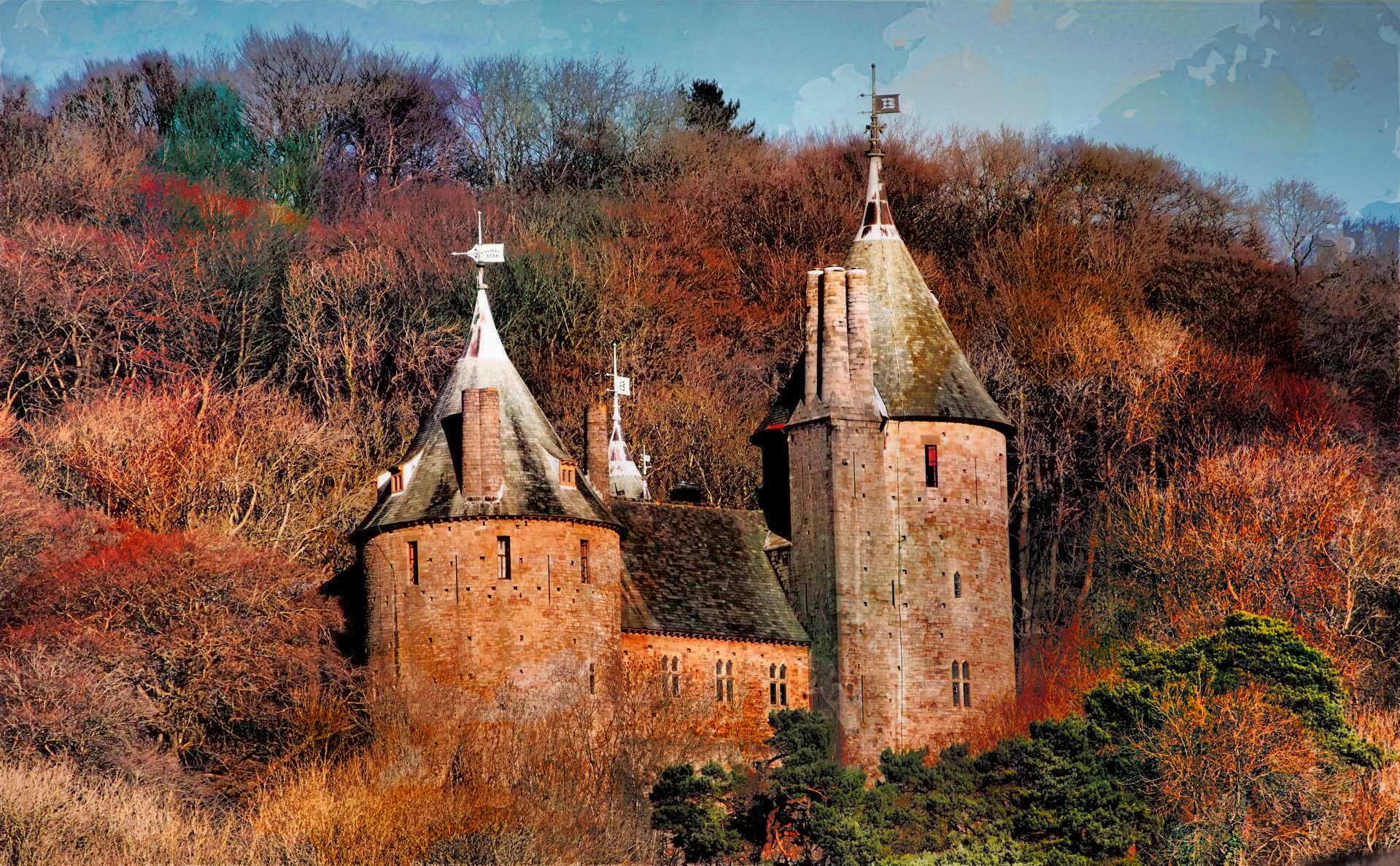Red Devil Hd Wallpaper File Castle Coch From A470 Jpg Wikimedia Commons