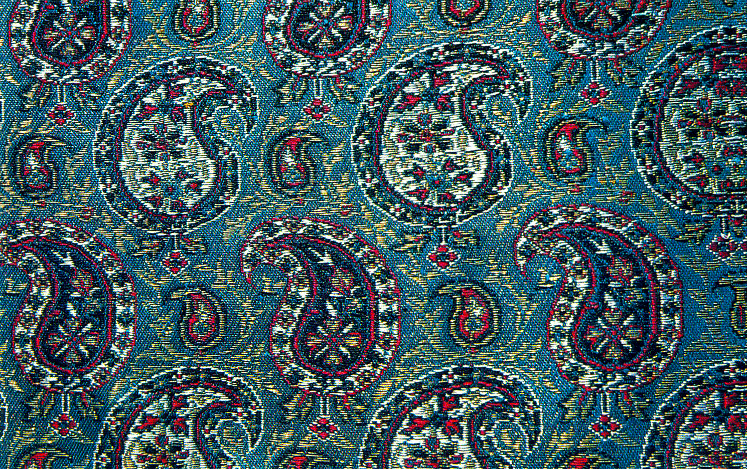 Filepersian Silk Brocade Paisley Persian Paisley