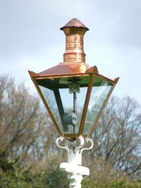 A Gas Lamp