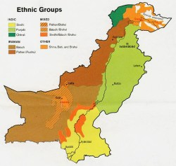 Etnie in Pakistan