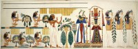 File:Egyptian tomb wall-painting - Egyptian Collections ...