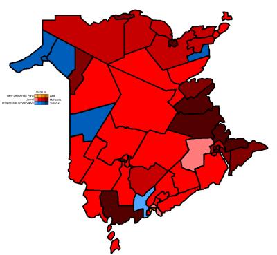 New Brunswick general election, 1995 - Wikipedia