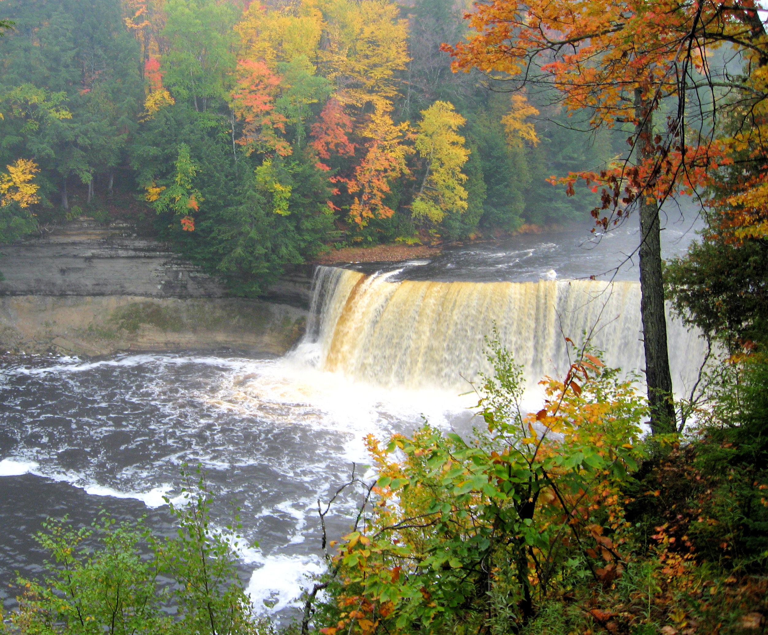 Pure Michigan Fall Wallpaper File Tahquamenon Falls1 Jpg Wikimedia Commons