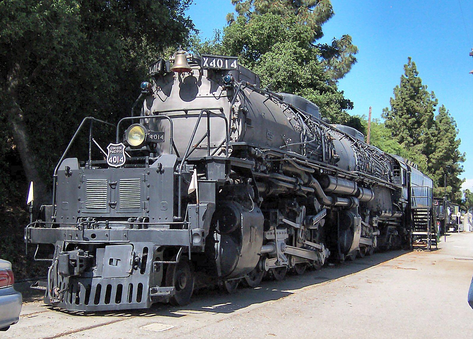 Union Pacific Big Boy Locomotive