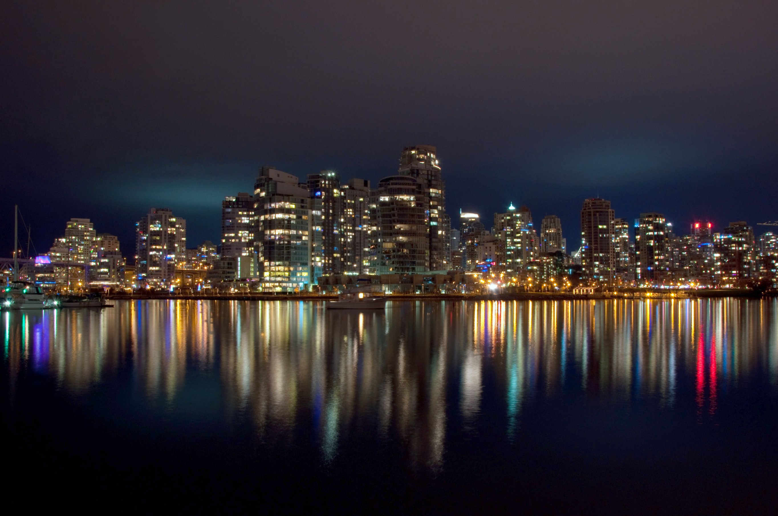 Night View Hd Wallpaper File Vancouver At Night 6692752995 Jpg Wikimedia Commons