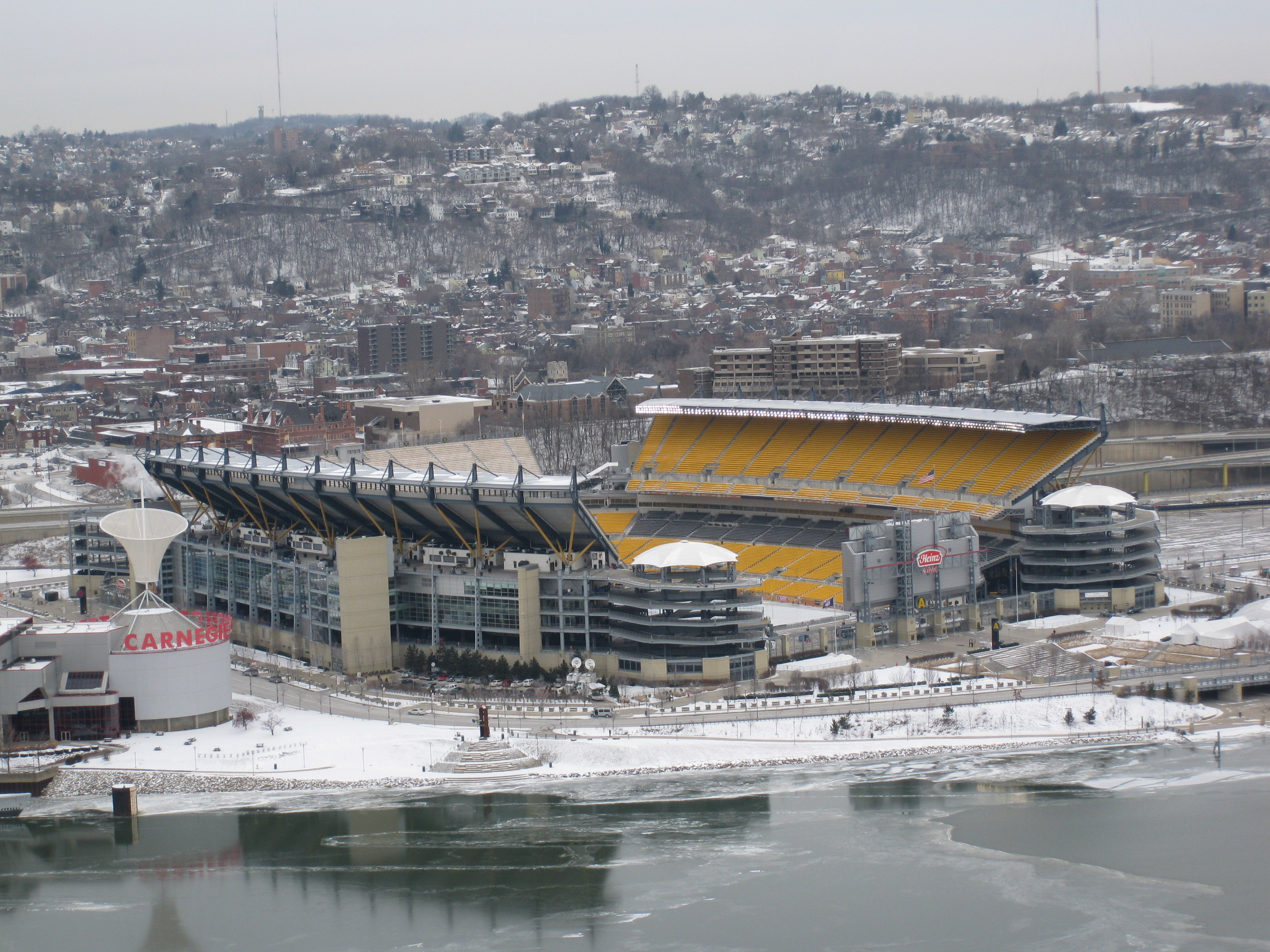 Pittsburgh Steelers Wallpaper Hd File Icy Heinz Field Jpg Wikimedia Commons