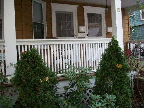Medium Of Front Porch Railing