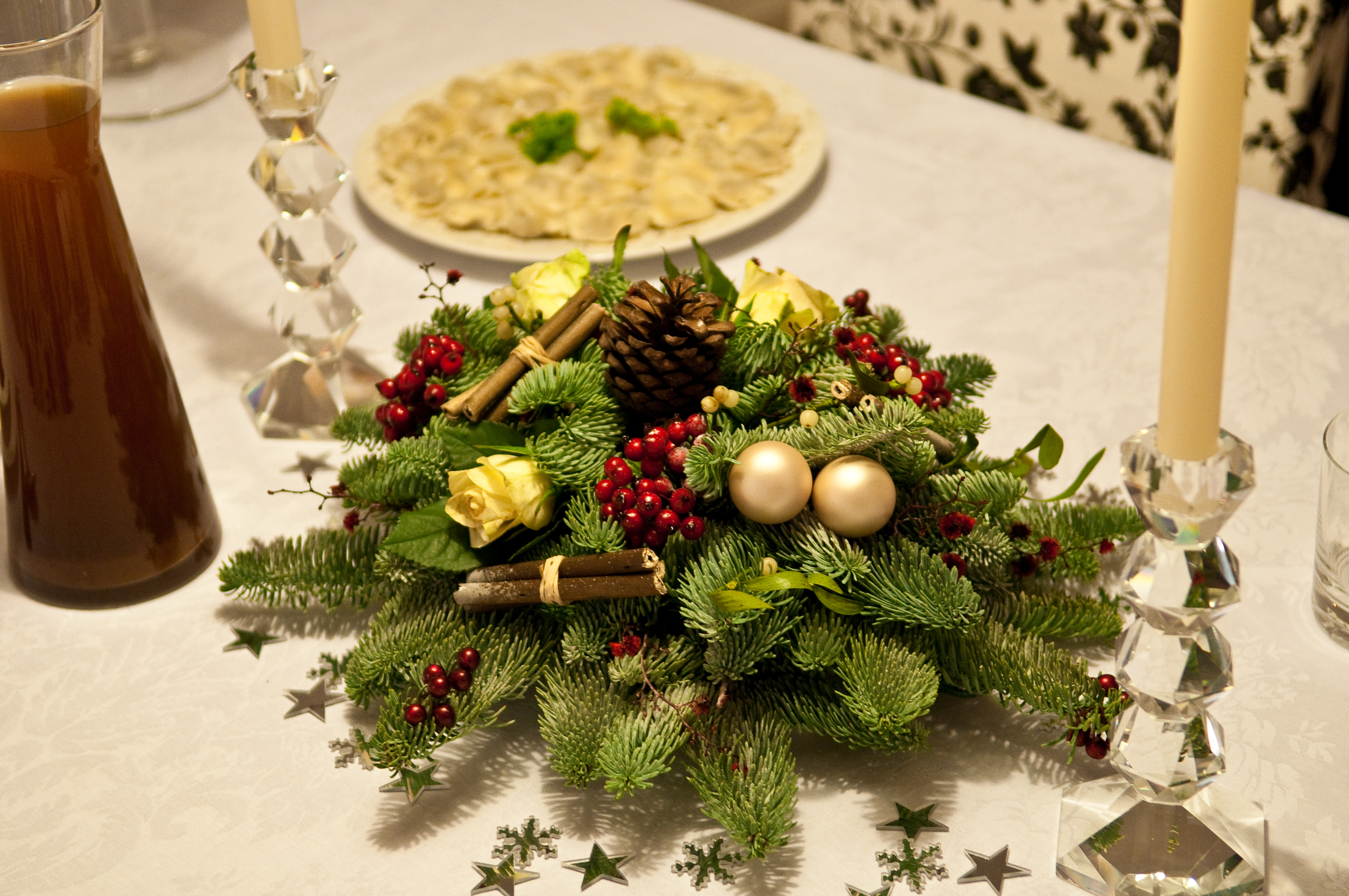 File Christmas Table Decoration 4219338789 Jpg Wikipedia