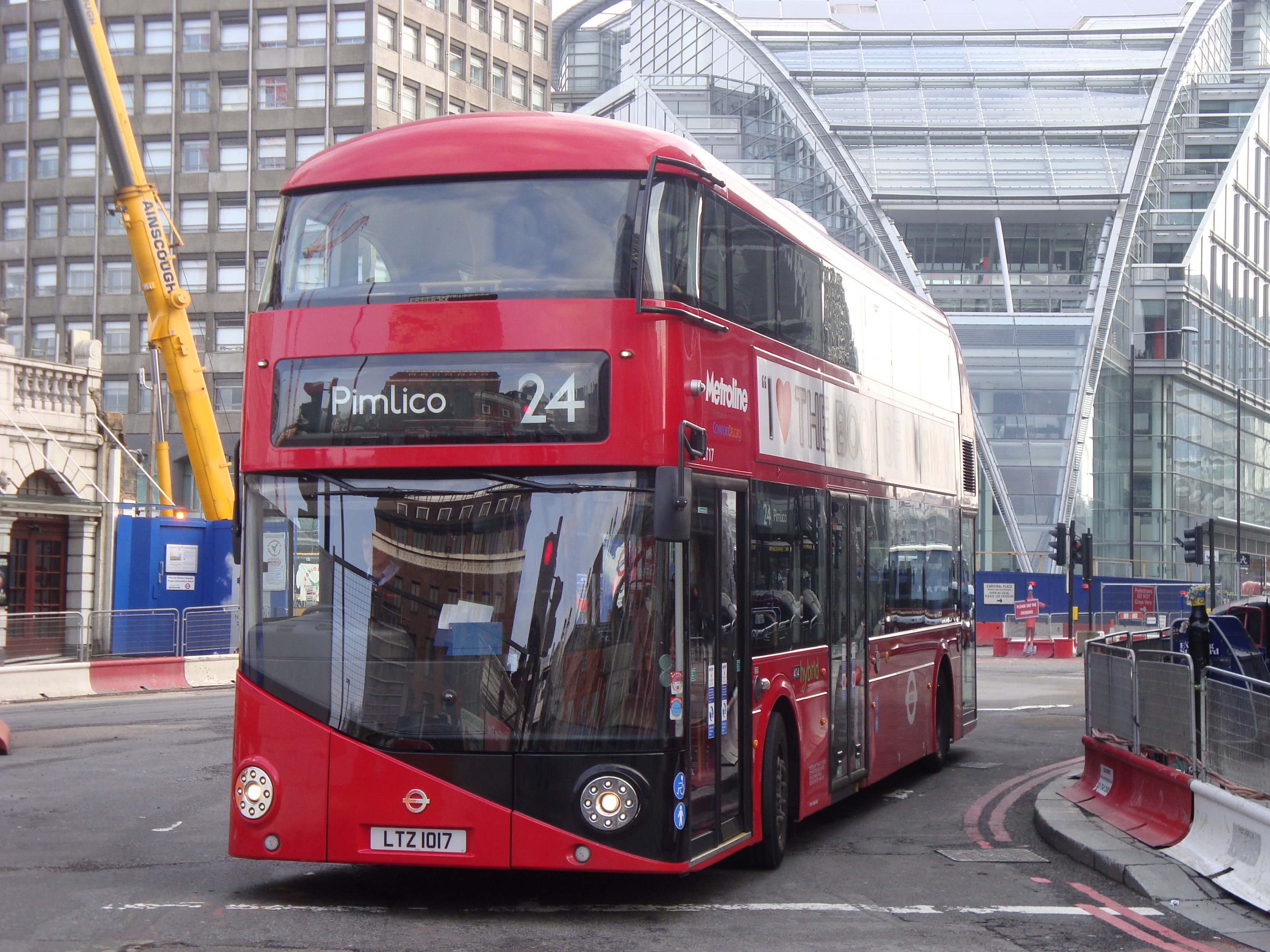 N24 Now London Buses Route 24 Wikipedia